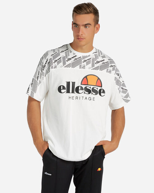 T-Shirt ELLESSE ALL OVER M