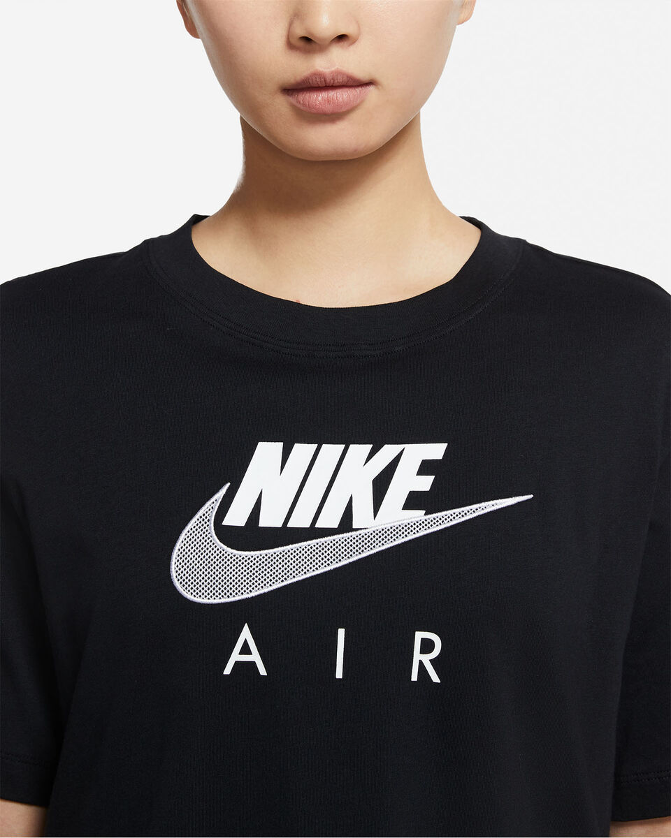 T-Shirt NIKE LONG AIR W S5267655 scatto 2