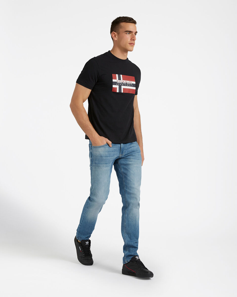T-Shirt NAPAPIJRI SOVICO M S4077612 scatto 3