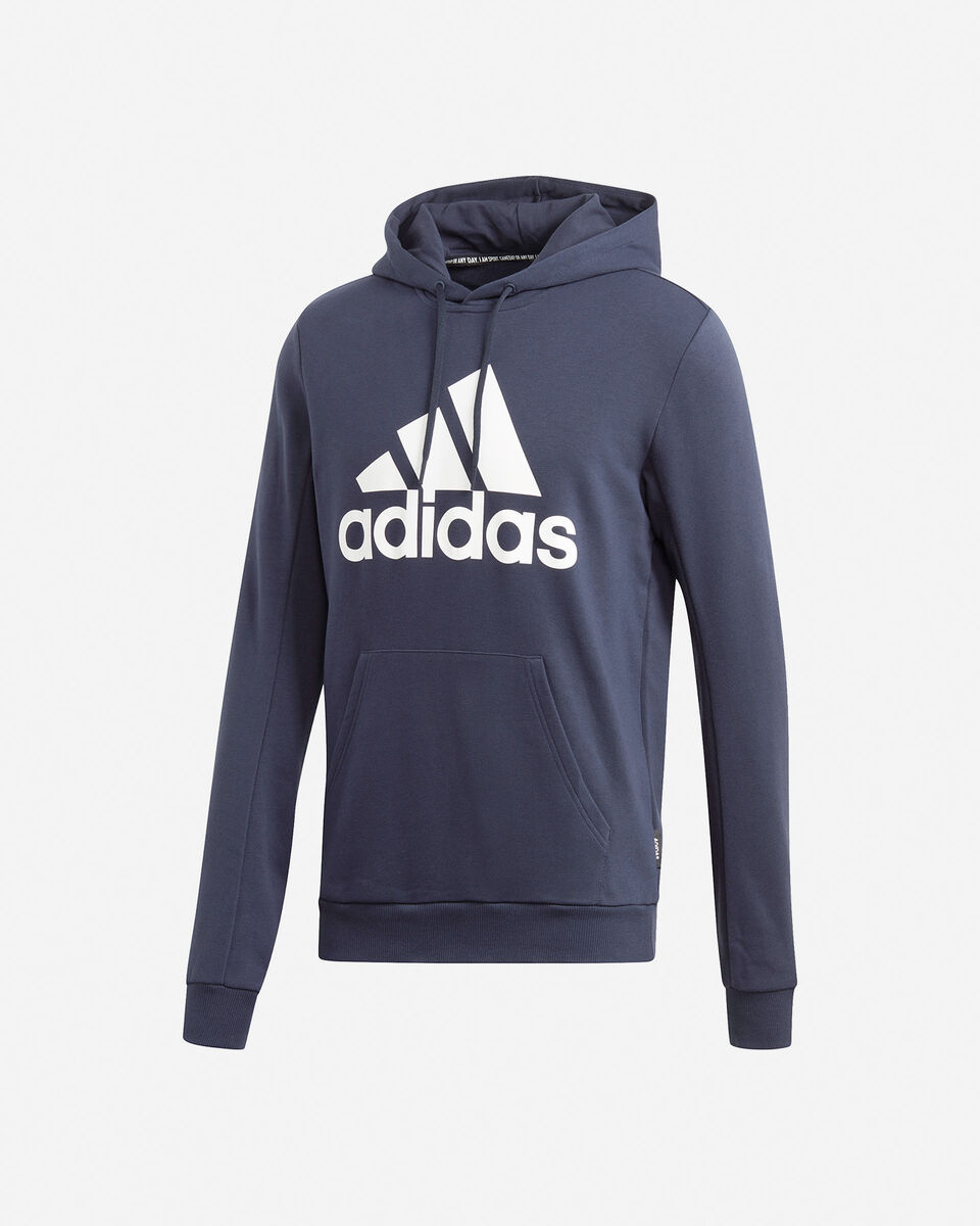 Felpa ADIDAS BADGE OF SPORT FRENCH TERRY HOODIE M S5219260 scatto 0