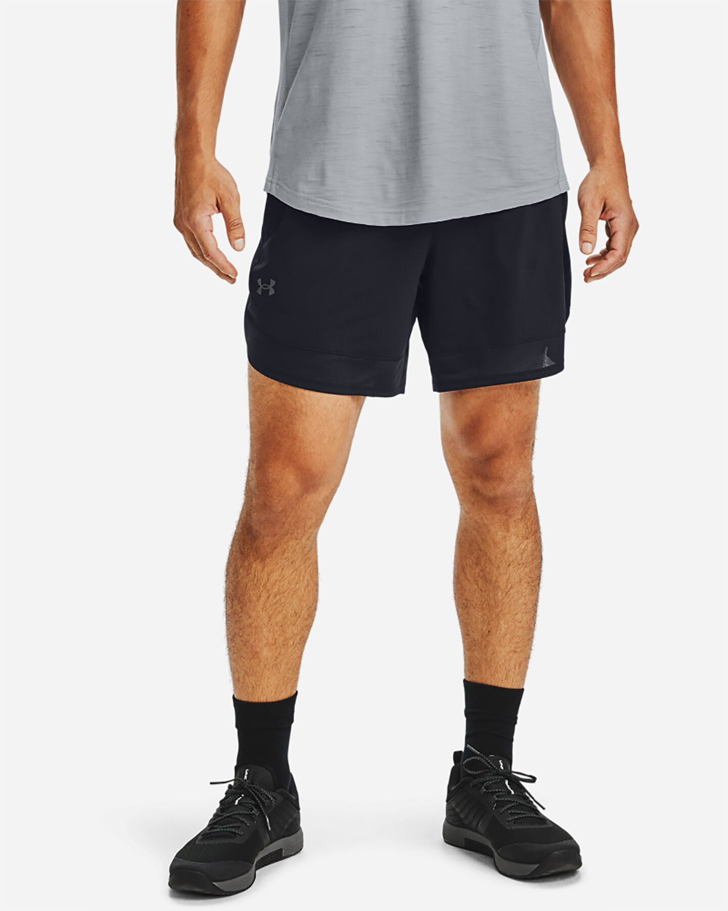 Pantalone training UNDER ARMOUR TRAINING STRETCH 7IN M S5229426 scatto 2