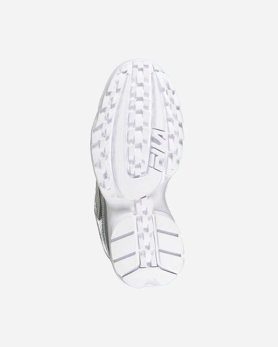 Scarpe sneakers FILA DISRUPTOR LOW W S4081579 scatto 2