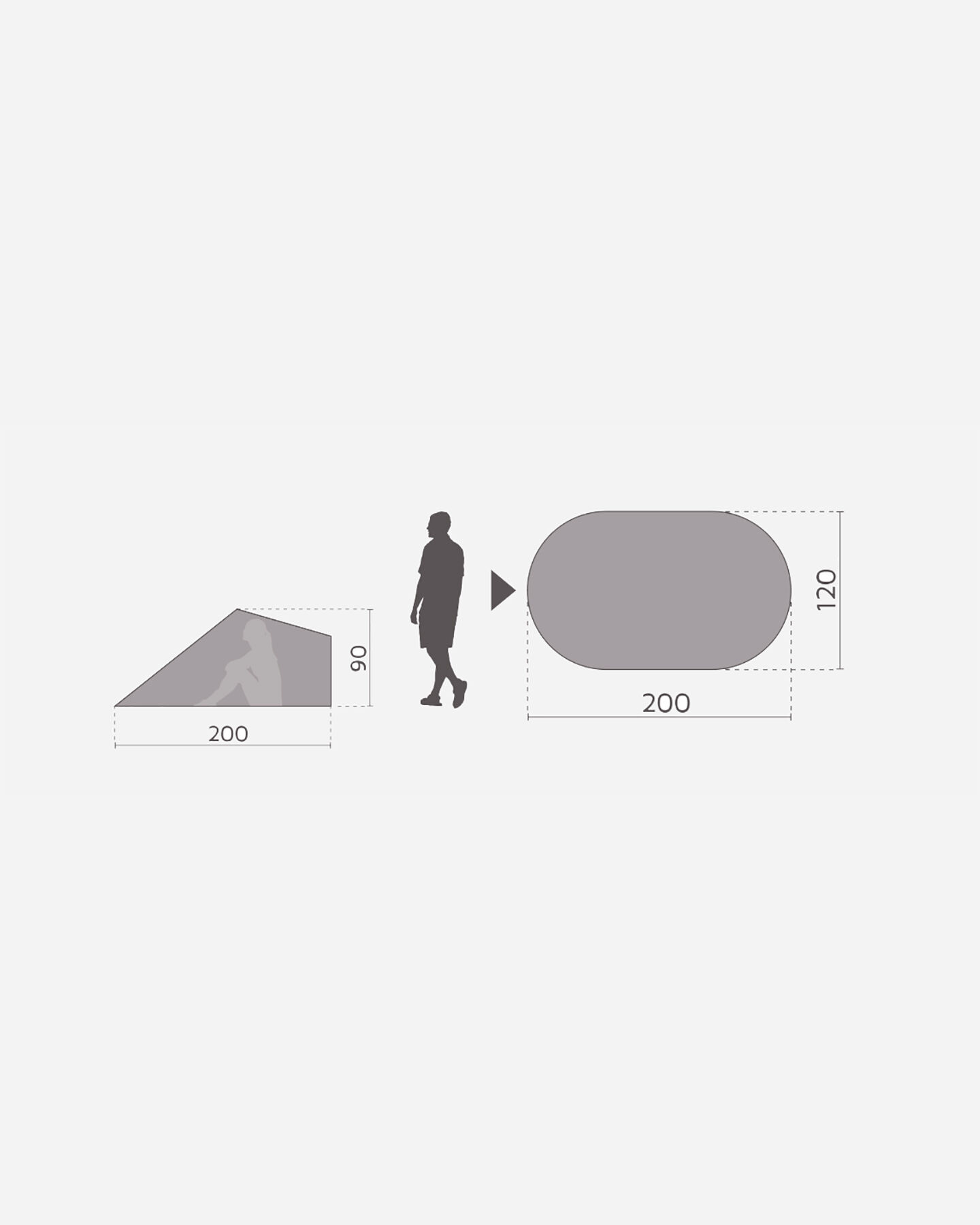 Tenda MCKINLEY SUNSHELTER CORDOU S1315831|070|UNI scatto 2