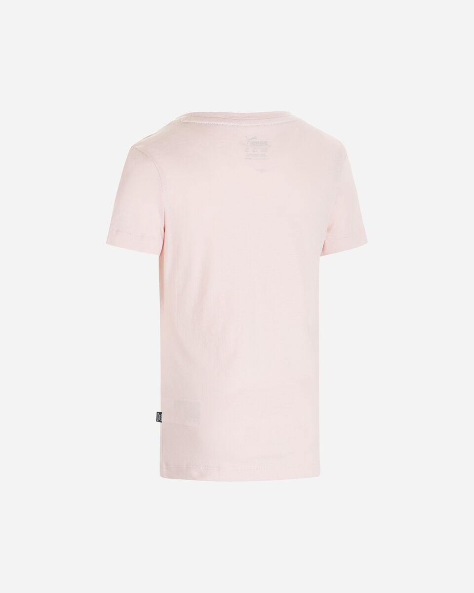 T-Shirt PUMA BASIC JR S5339167 scatto 1