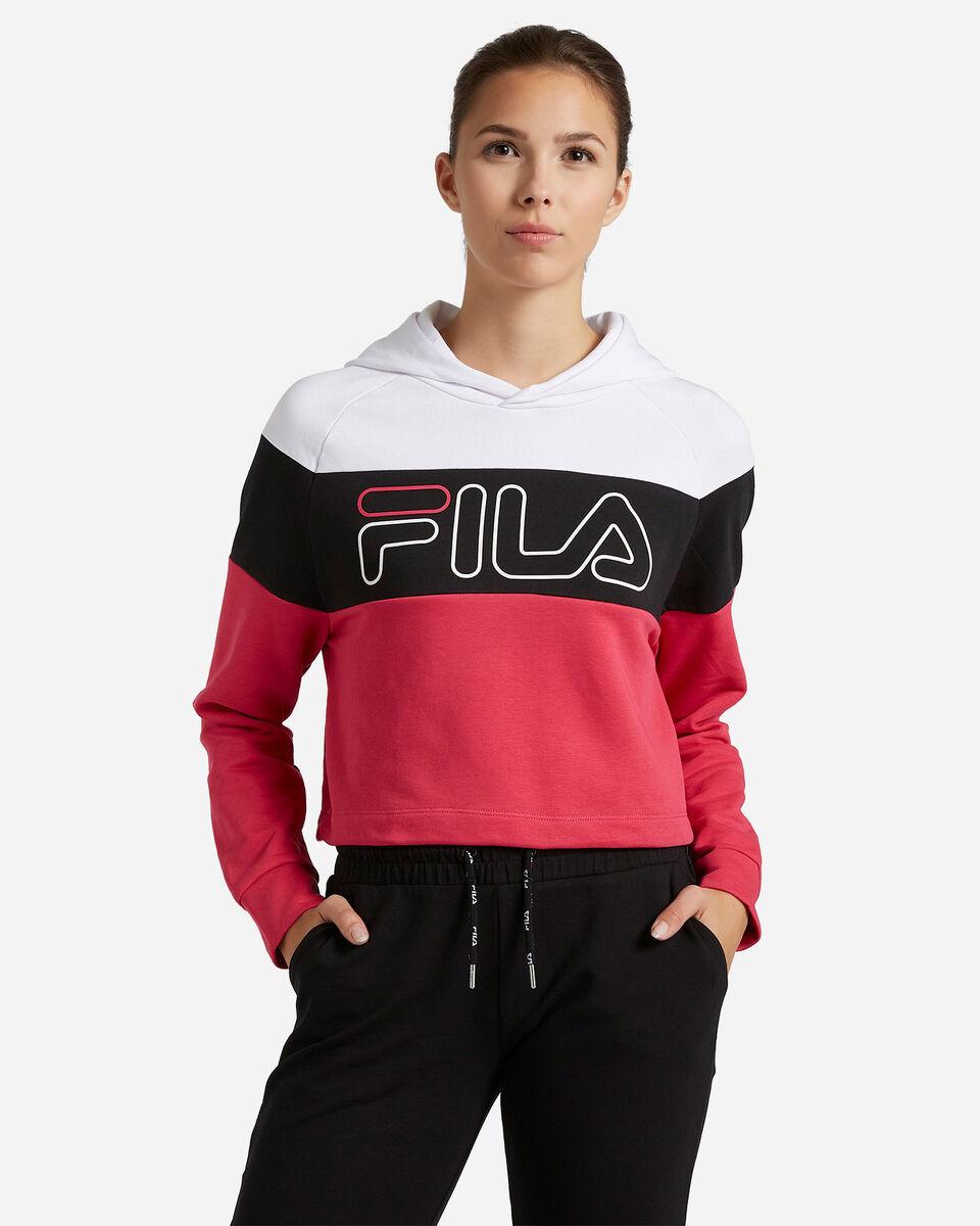 Felpa FILA COLOR BLOCK W S4080519 scatto 0