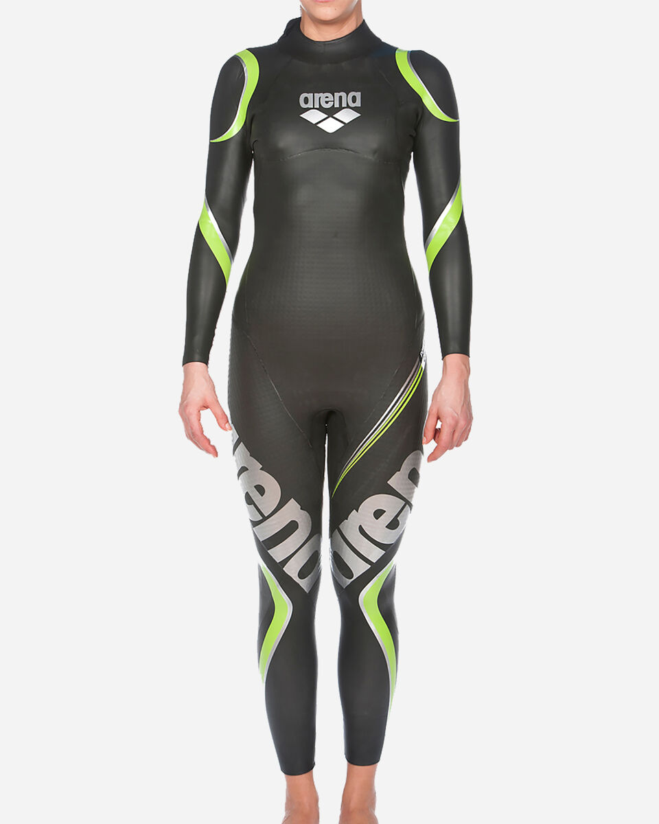 Costume piscina ARENA TRIWETSUIT CARBON W S5042136 scatto 2