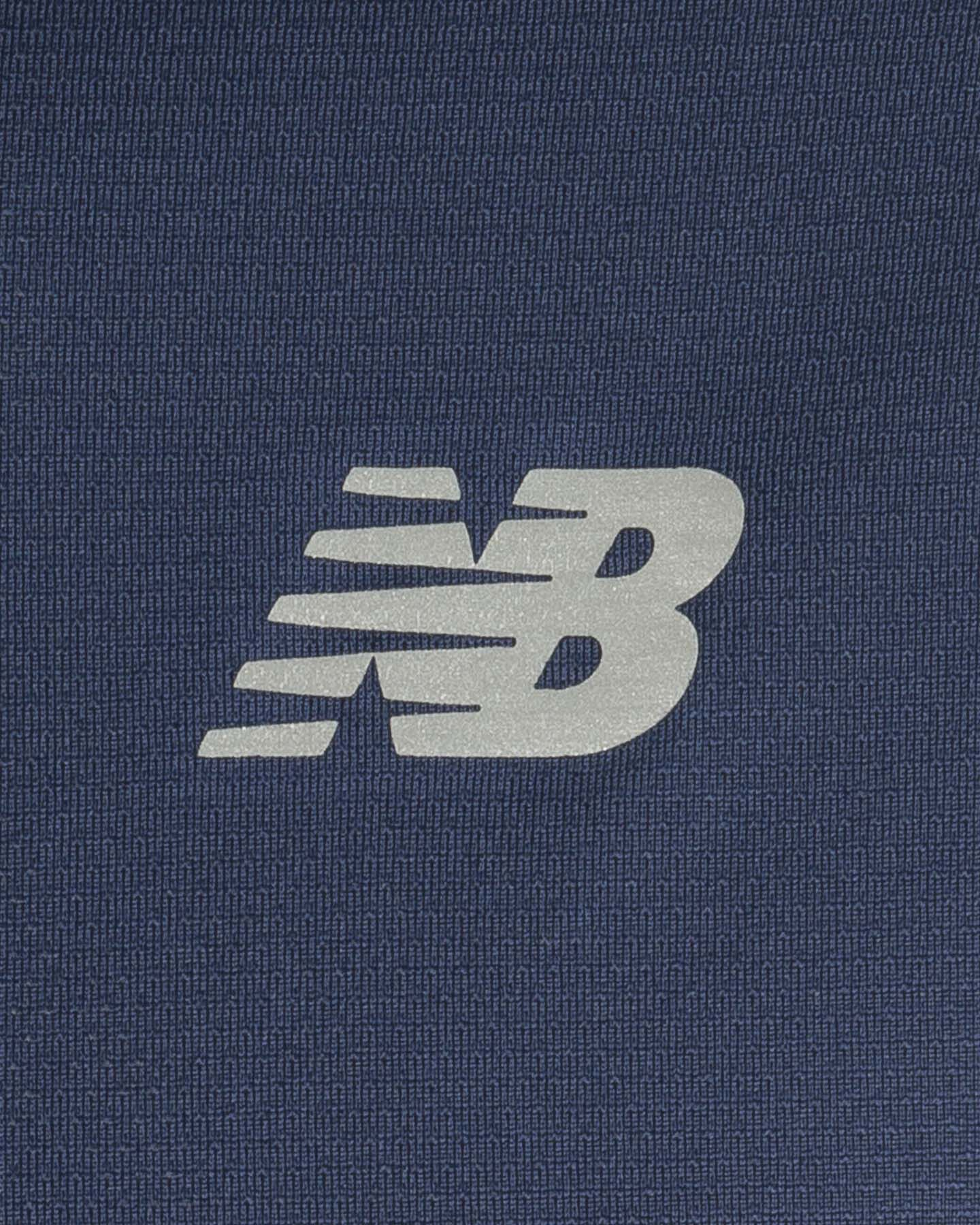 T-Shirt running NEW BALANCE CORE RUN SS T SOLID V M S5166448 scatto 2