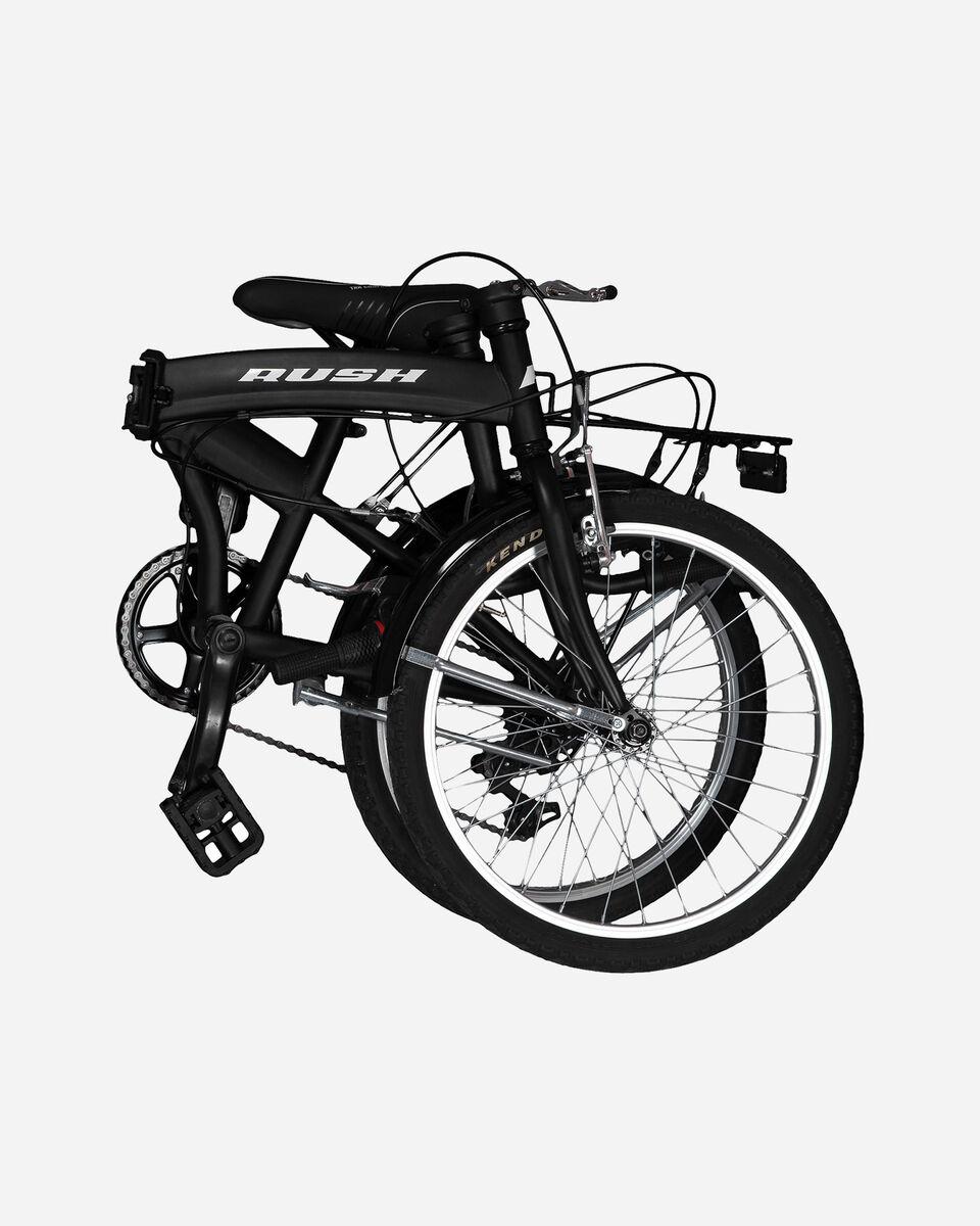 City bike RUSH BICICLETTA PIEGHEVOLE S1324406 1 UNI scatto 1