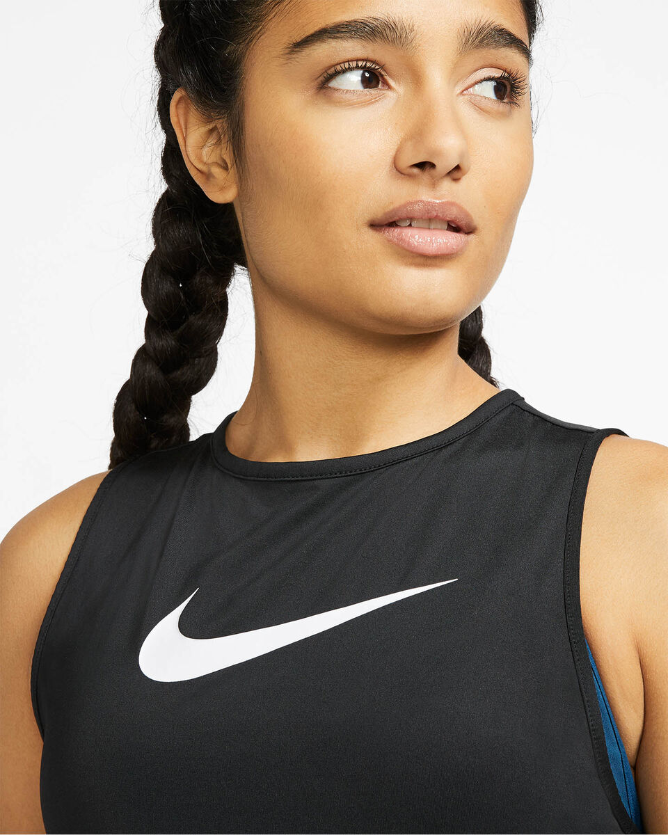 Canotta training NIKE MESH W S5164189 scatto 4