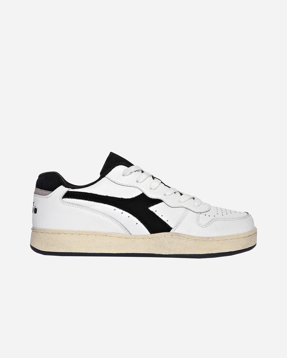Scarpe sneakers DIADORA USED BASKET LOW M S5171197 scatto 0