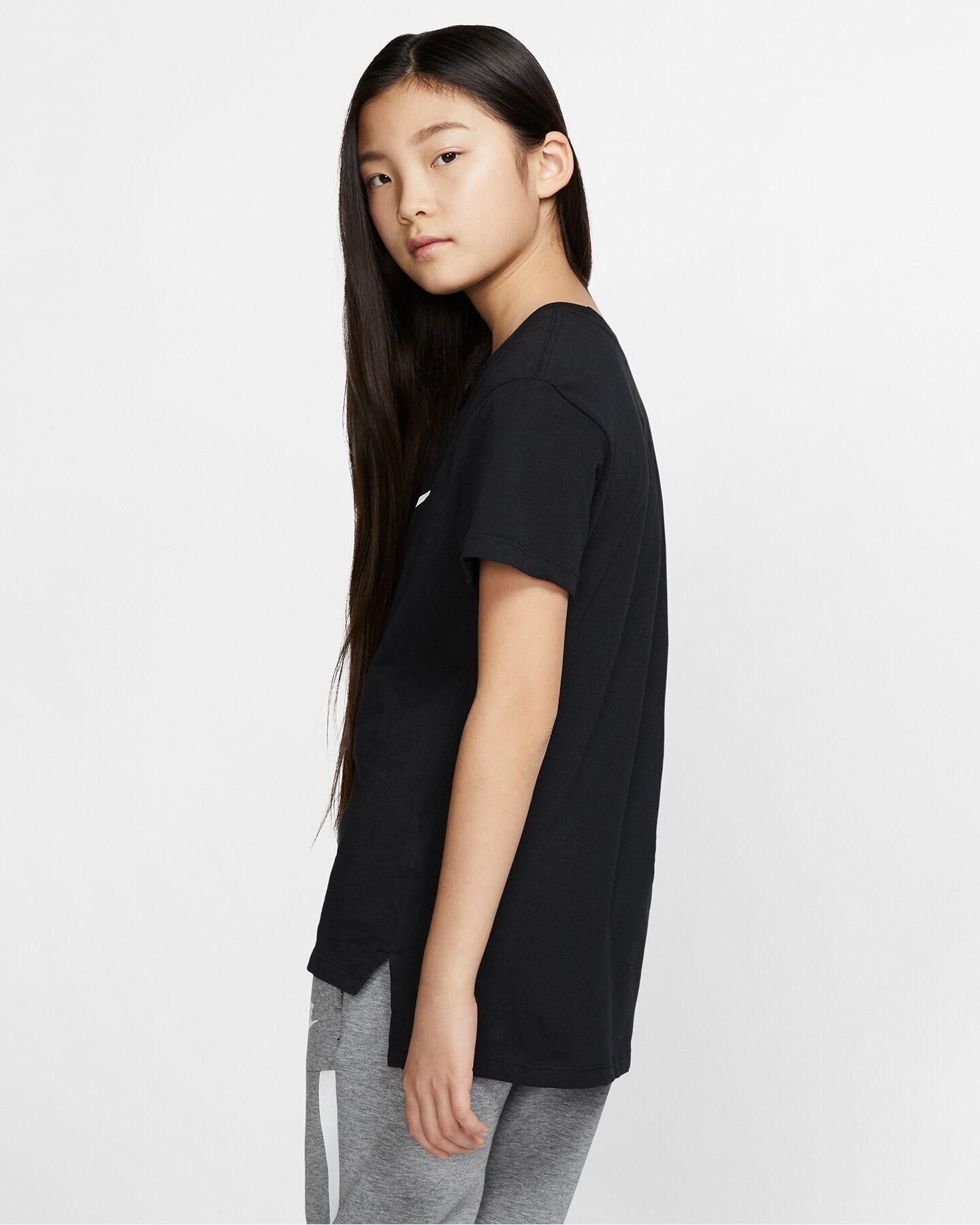 T-Shirt NIKE SWOOSH JR S2023505 scatto 4