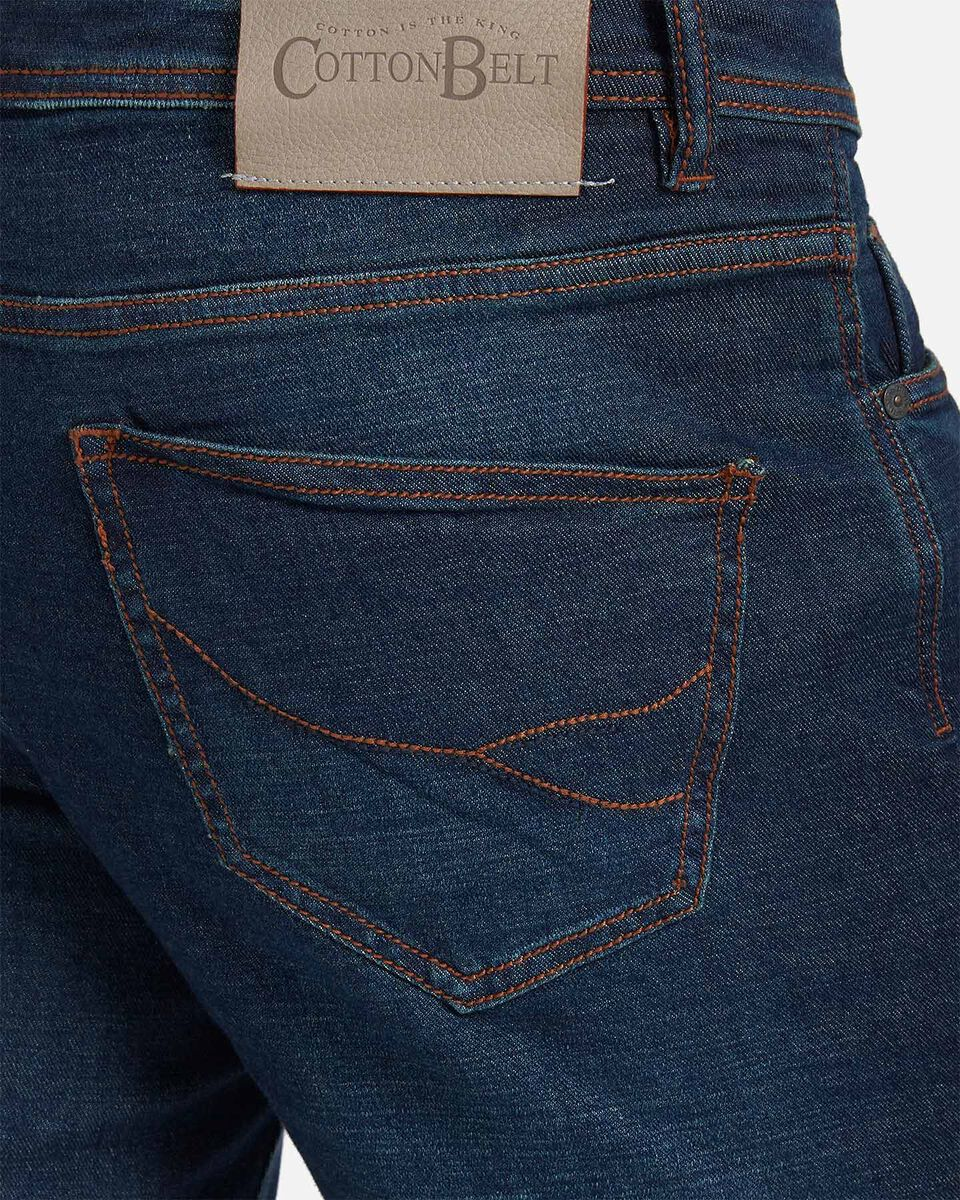 Jeans COTTON BELT 5TS SLIM M S4076650 scatto 3