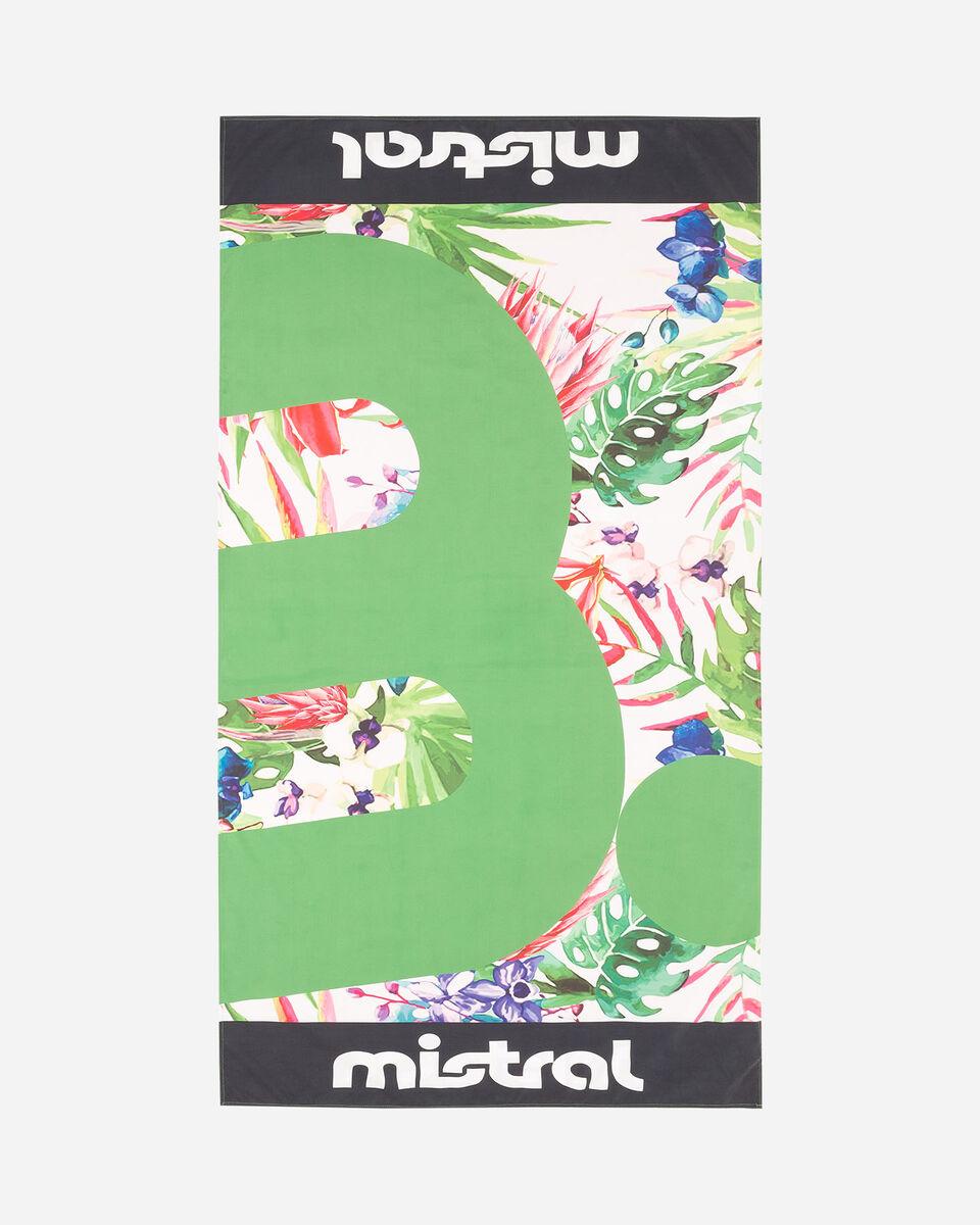 Telo mare MISTRAL MICROF 96X174 TROPICAL S4077418|896|UNI scatto 0