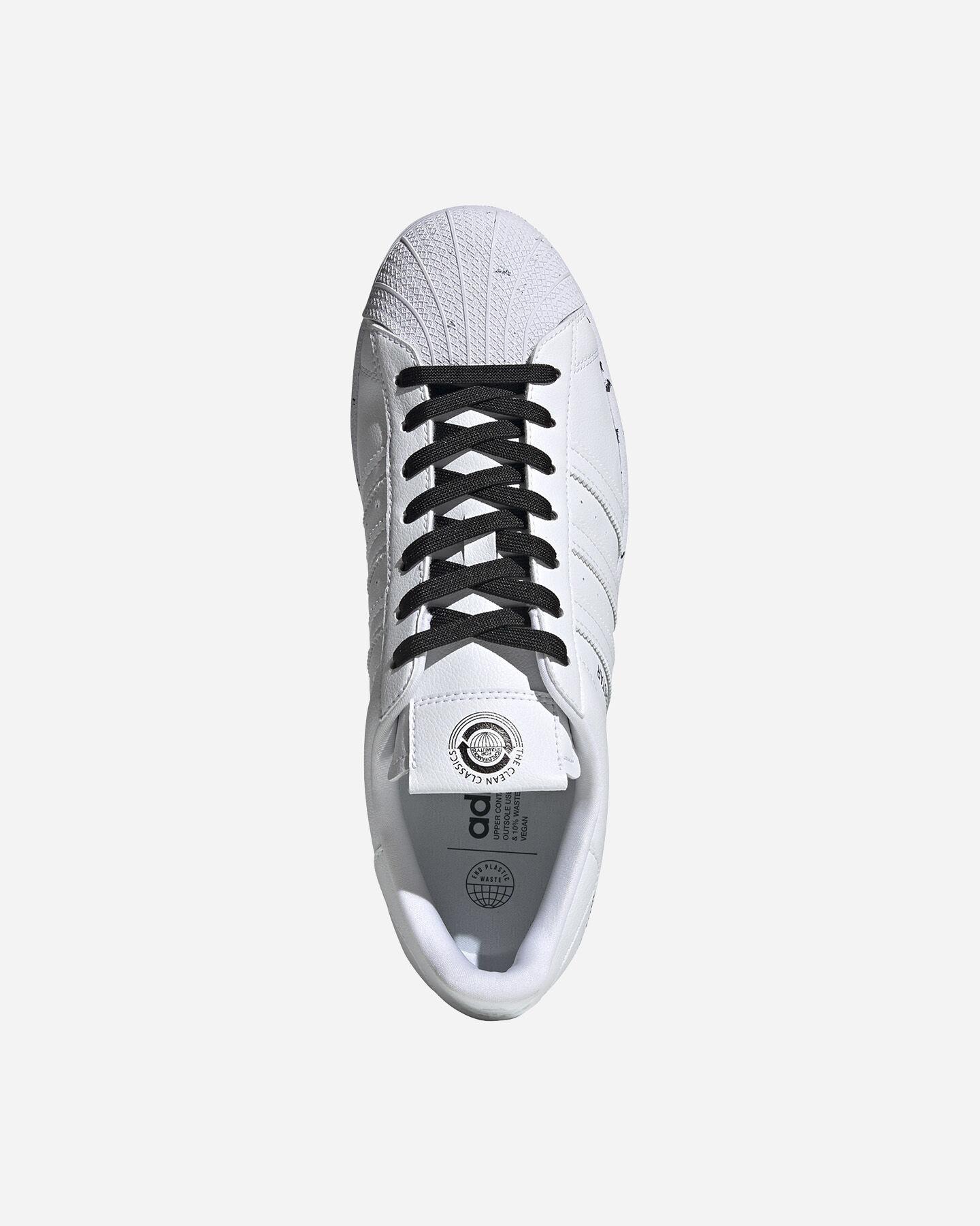 Scarpe sneakers ADIDAS SUPERSTAR VEGAN M S5209270 scatto 2