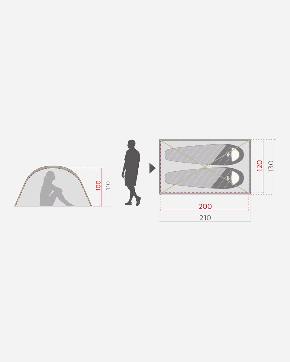Tenda MCKINLEY VEGA 10.2 S2021951|900|- scatto 4