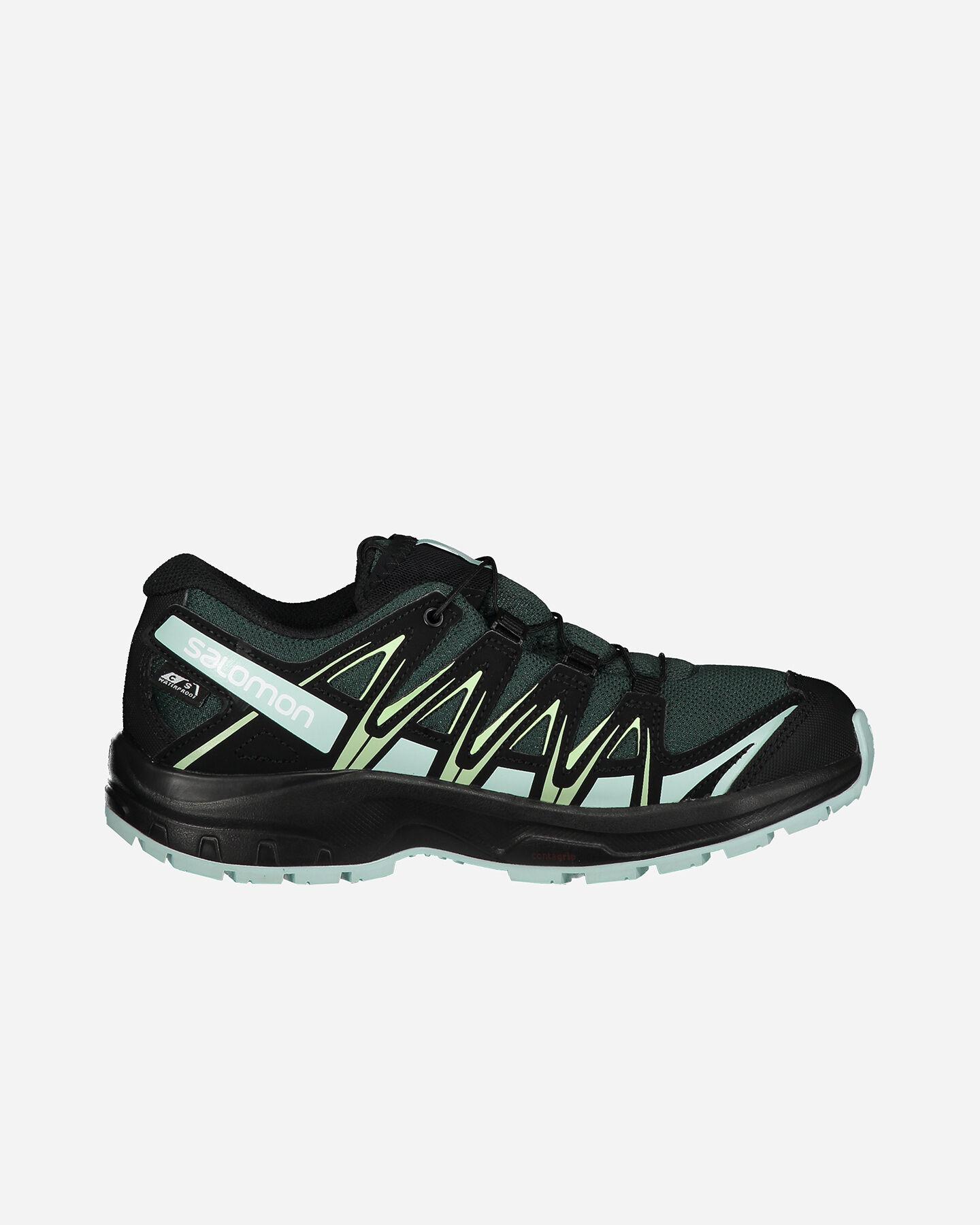 Scarpe trail SALOMON XA PRO 3D CSWP JR S5197215 scatto 0