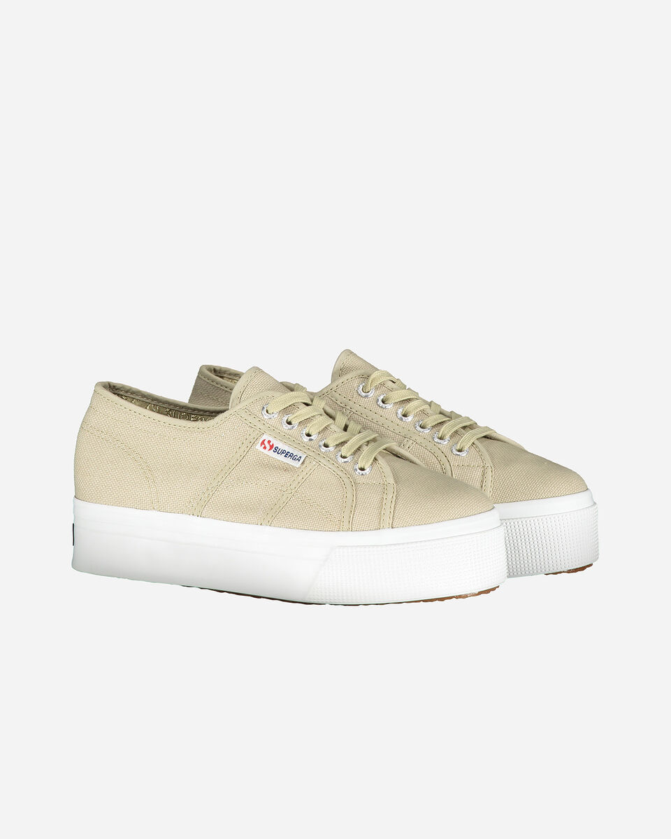 Scarpe sneakers SUPERGA 2790ACOTW LINE UP AND DOWN W S4069189 scatto 1