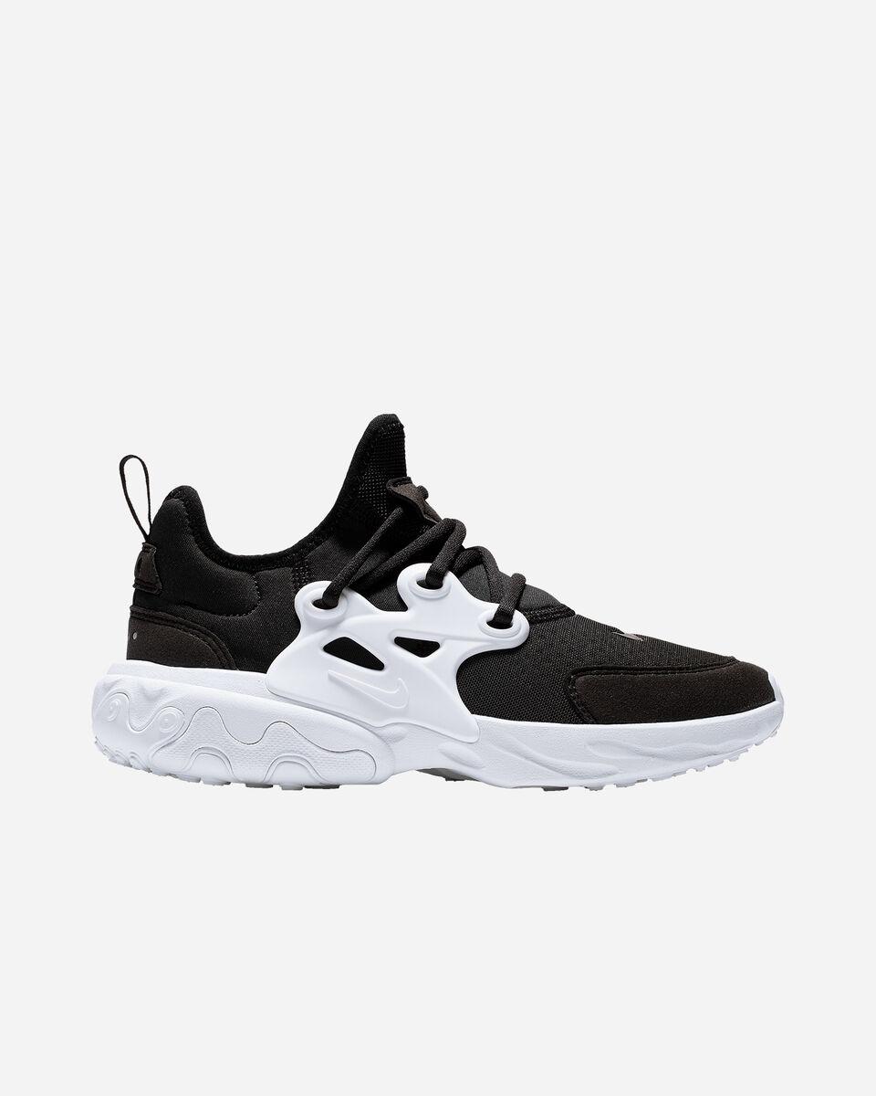 Scarpe sneakers NIKE REACT PRESTO JR GS S2024077 scatto 0