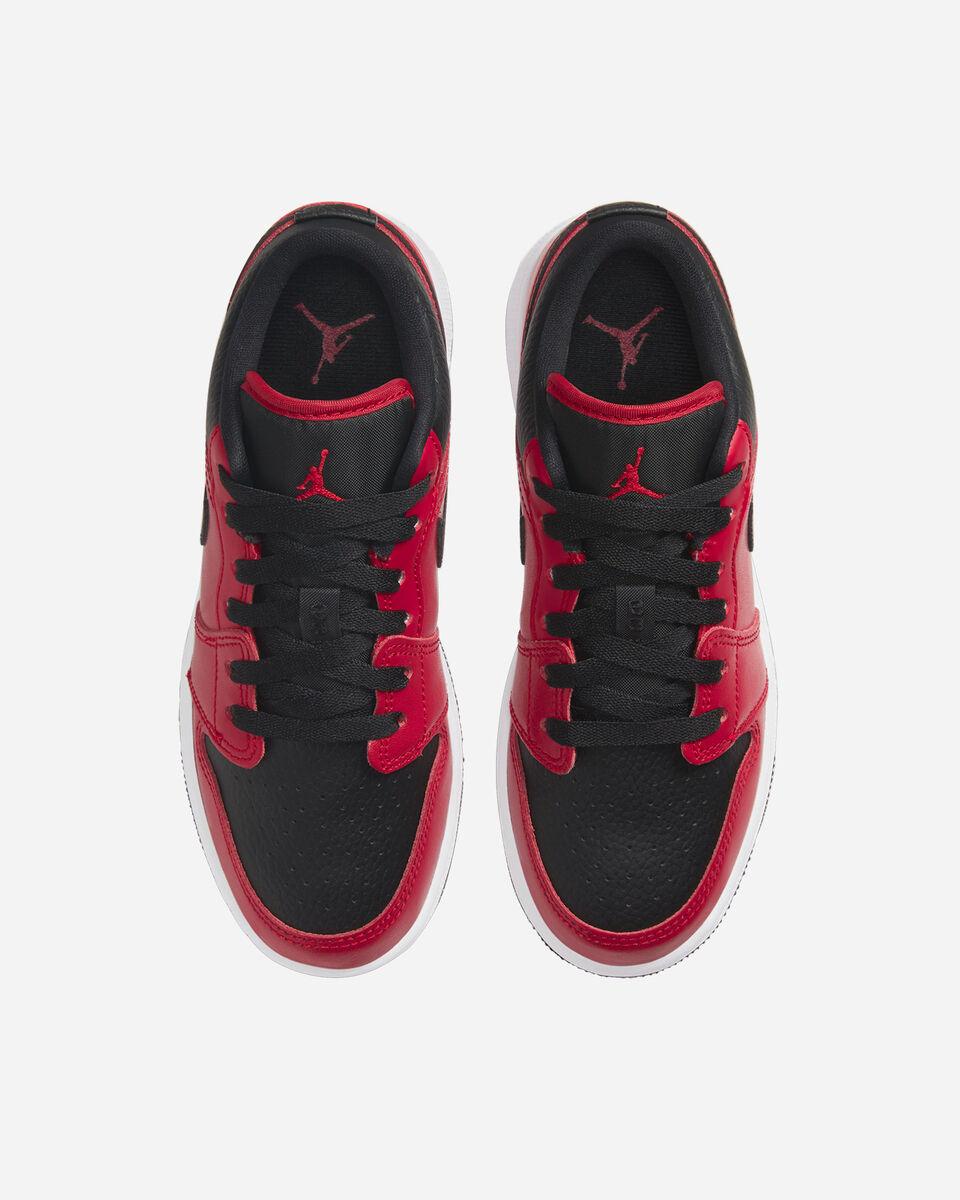 Scarpe sneakers NIKE AIR JORDAN 1 LOW GS JR S5270339 scatto 3