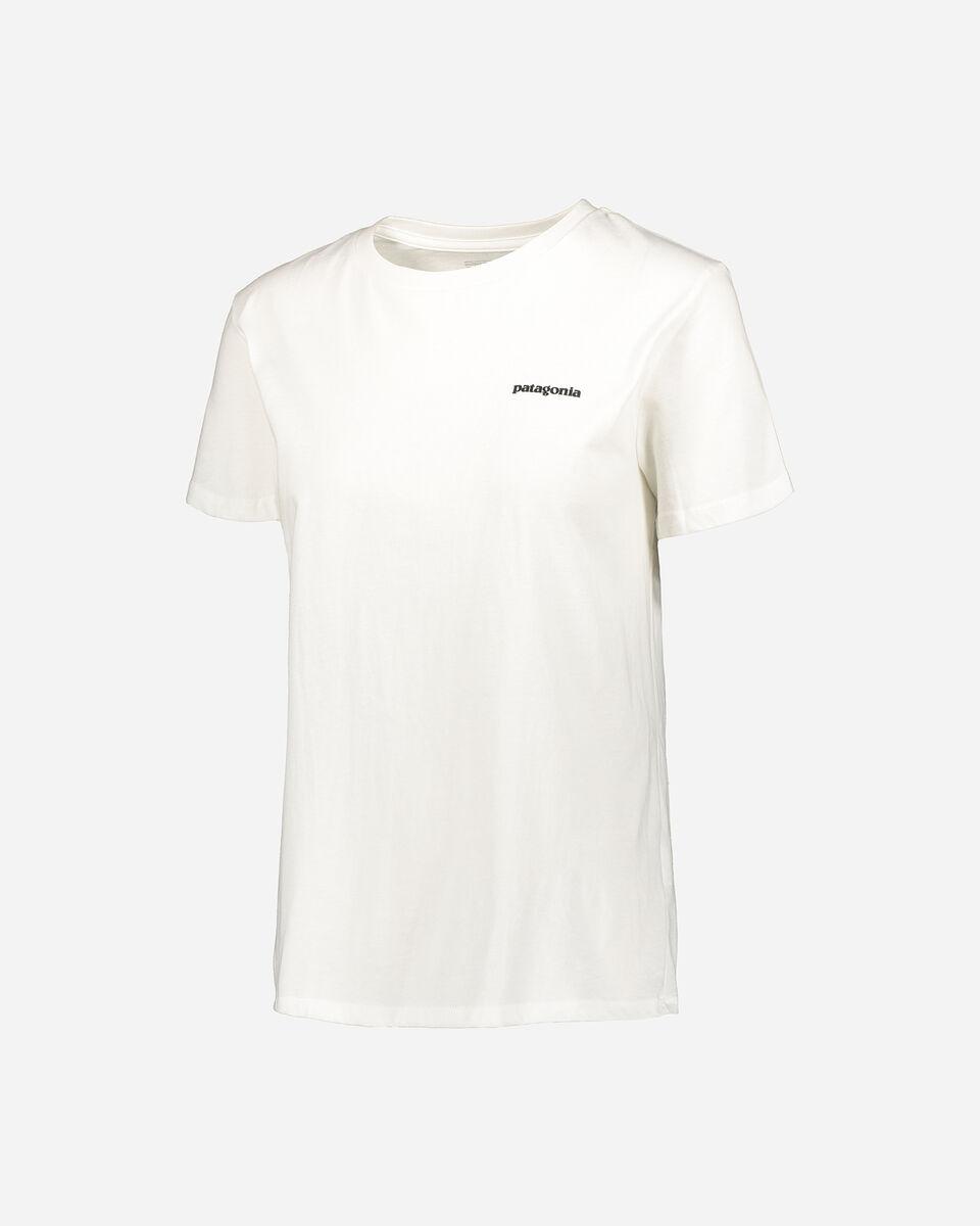 T-Shirt PATAGONIA P-6 LOGO ORGANIC W S4089328 scatto 0
