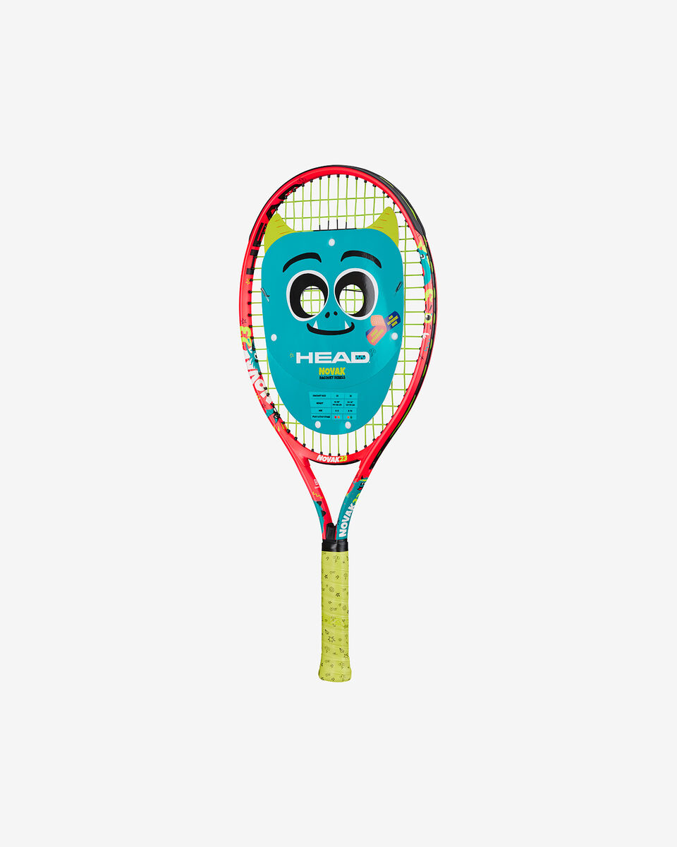 Racchetta tennis HEAD NOVAK 23 JR S5220901|UNI|SC06 scatto 1