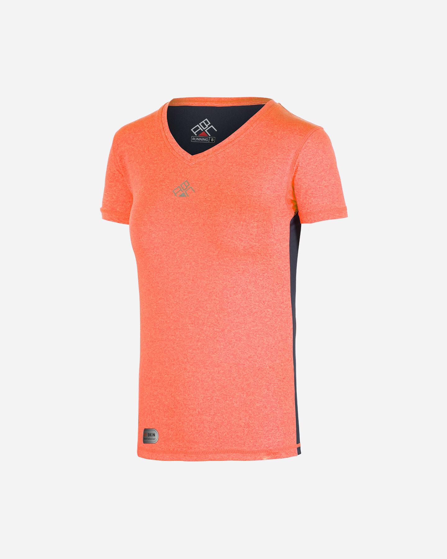 T-Shirt running ABC V-NECK RUN W S4074562 scatto 0