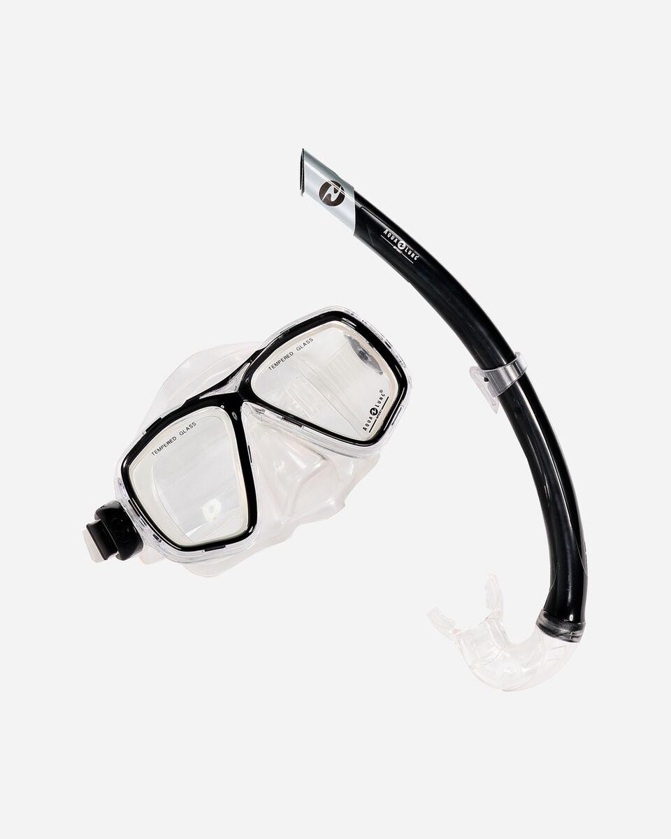 Kit snorkeling AQUALUNG SPORT ACAPULCO+BULA S1299381|101|UNI scatto 0
