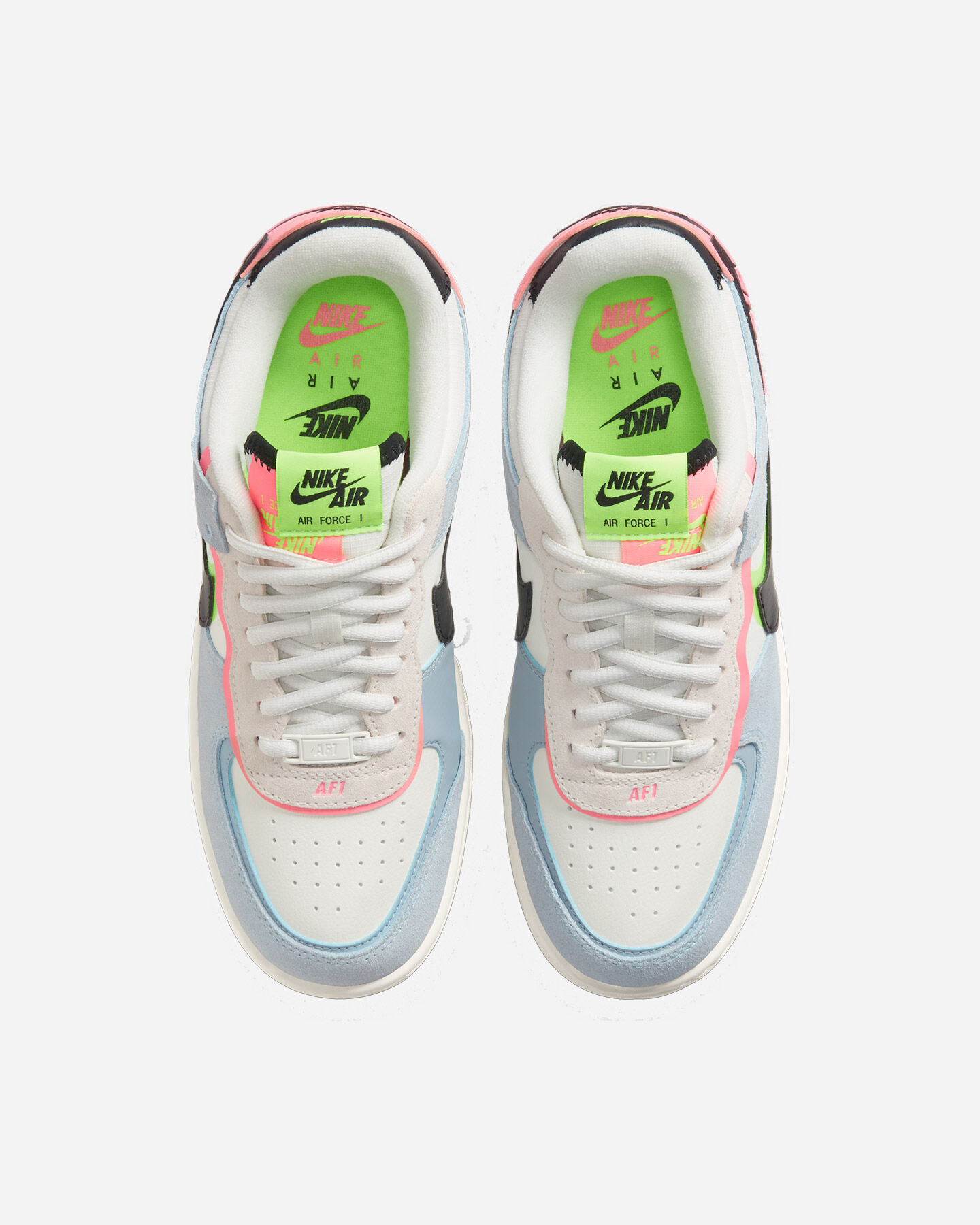 Scarpe sneakers NIKE AIR FORCE 1 SHADOW W S5270394 scatto 3
