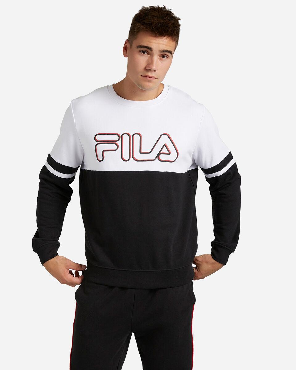 Felpa FILA BICOLOR M S4081022 scatto 0