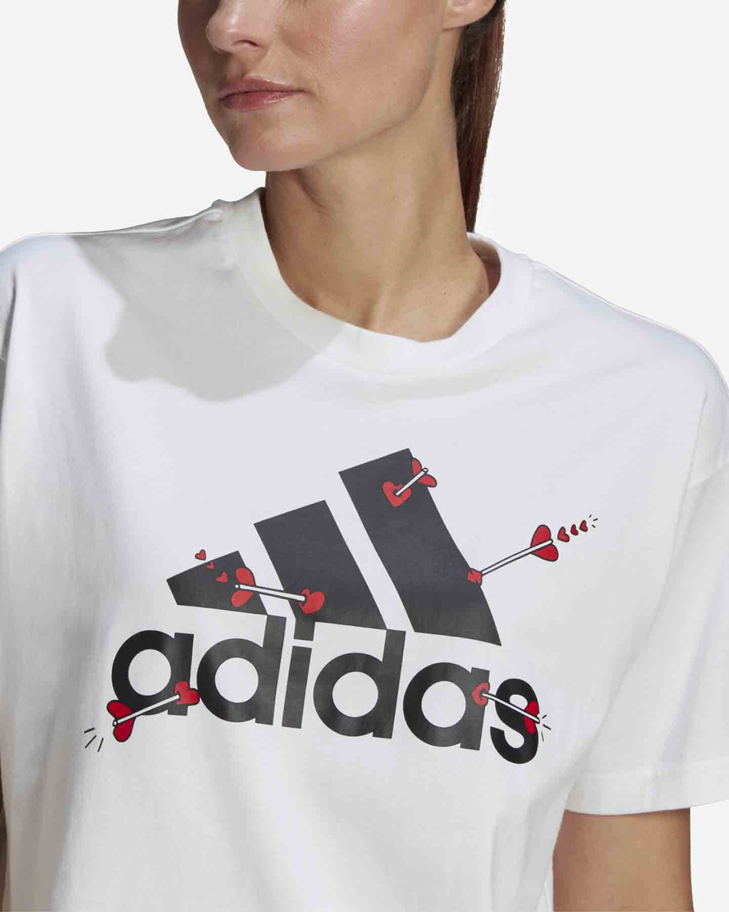 T-Shirt ADIDAS VALENTINE W S5274725 scatto 5
