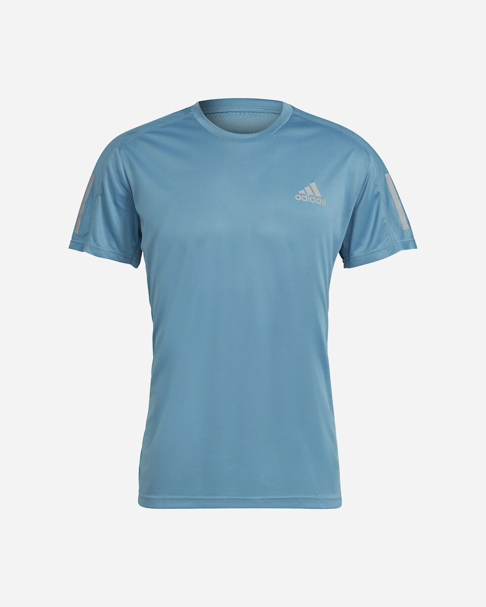 T-Shirt running ADIDAS OWN THE RUN M S5273944 scatto 0