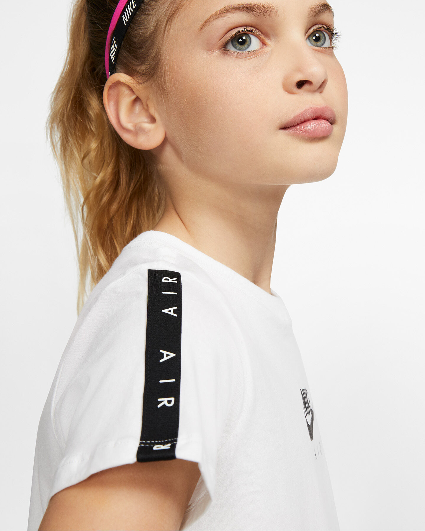 T-Shirt NIKE AIR TAPE JR S5165084 scatto 5