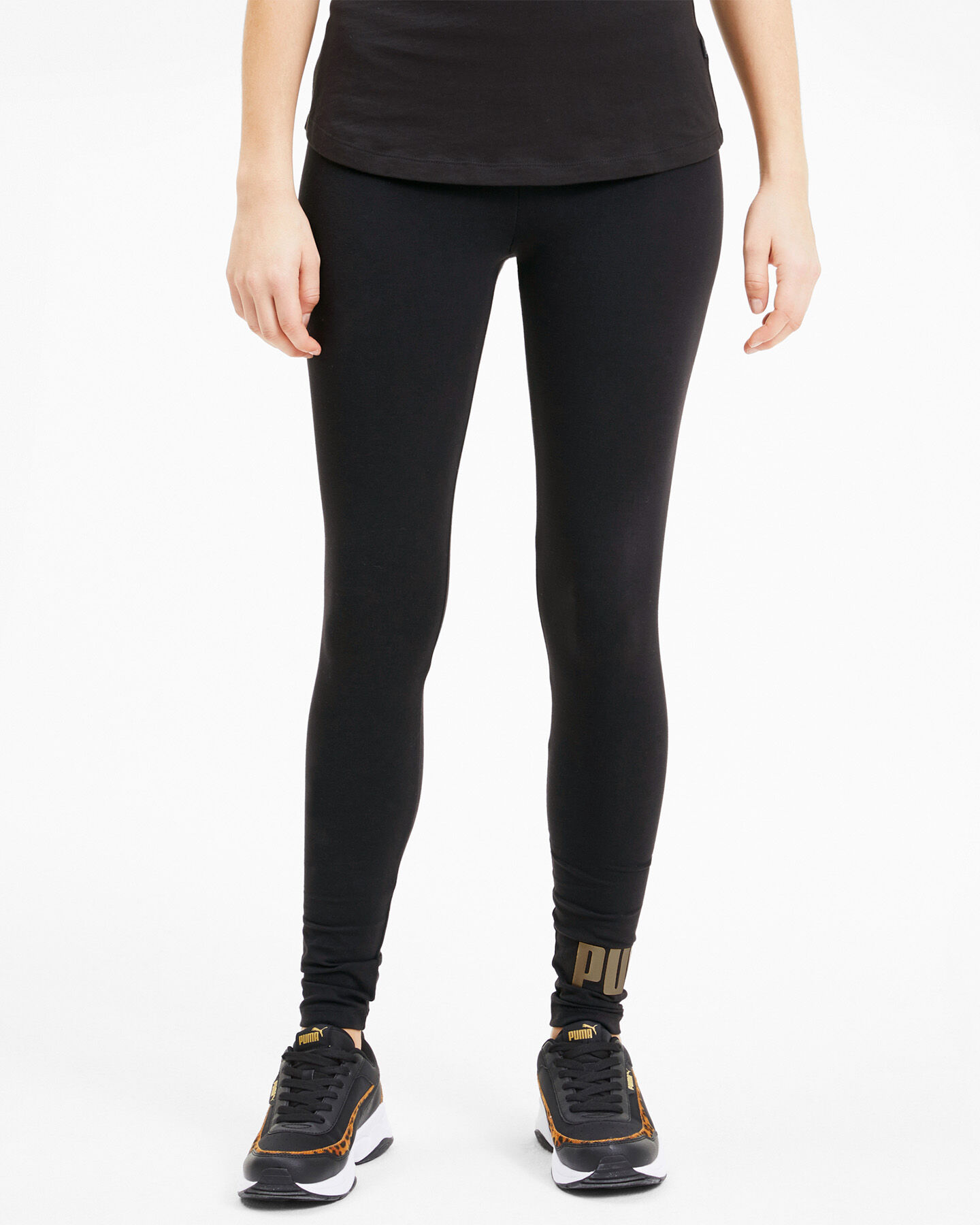 Leggings PUMA JSTRETCH LOGO FOIL W S5040858 scatto 2