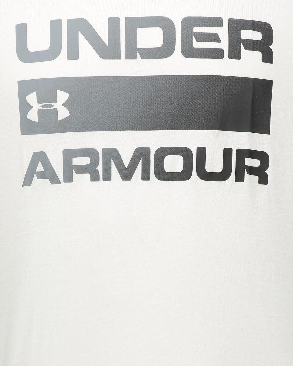 T-Shirt training UNDER ARMOUR TEAM ISSUE WORDMARK M S5035467 scatto 2