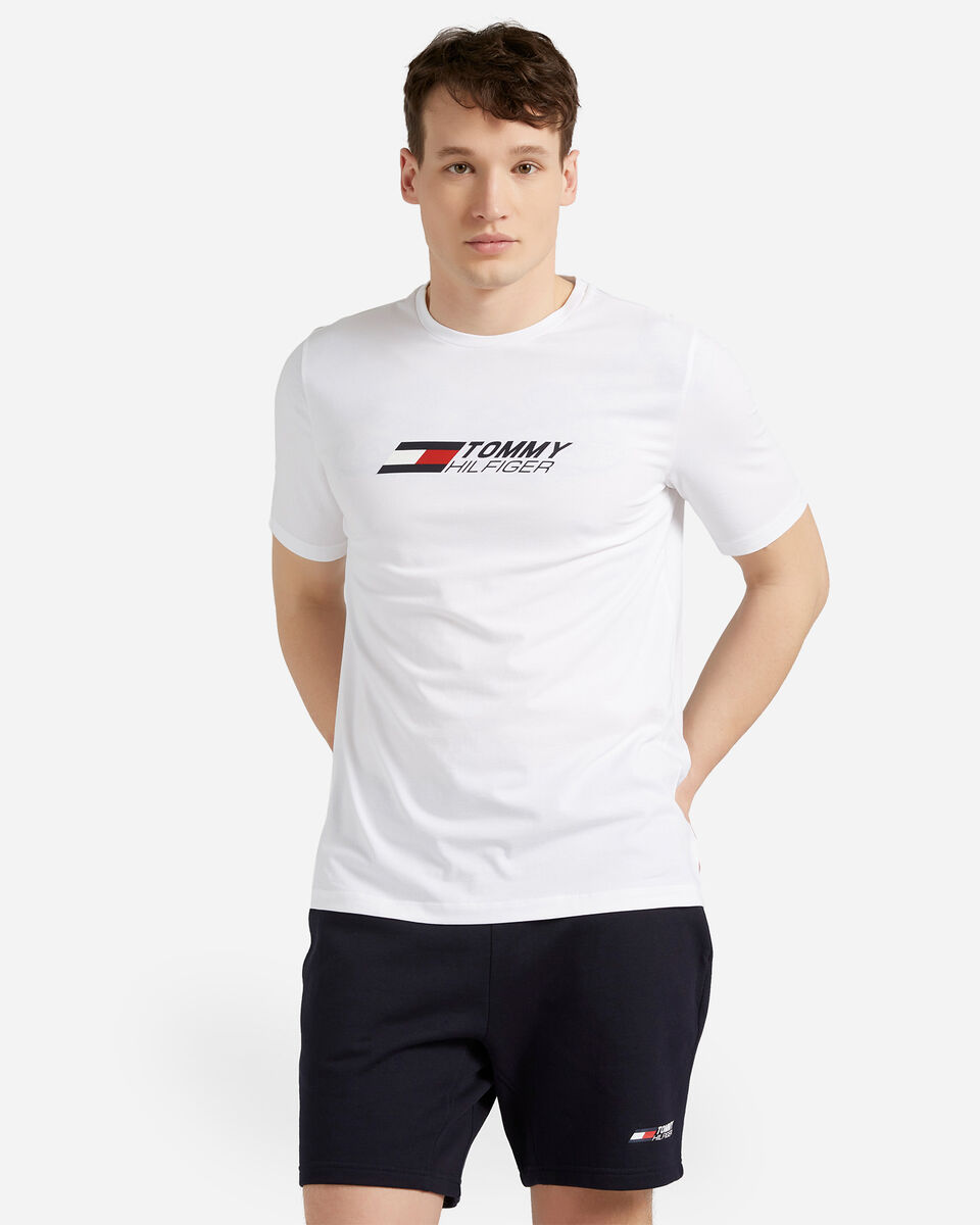 T-Shirt TOMMY HILFIGER SMALL LOGO M S4089506 scatto 0