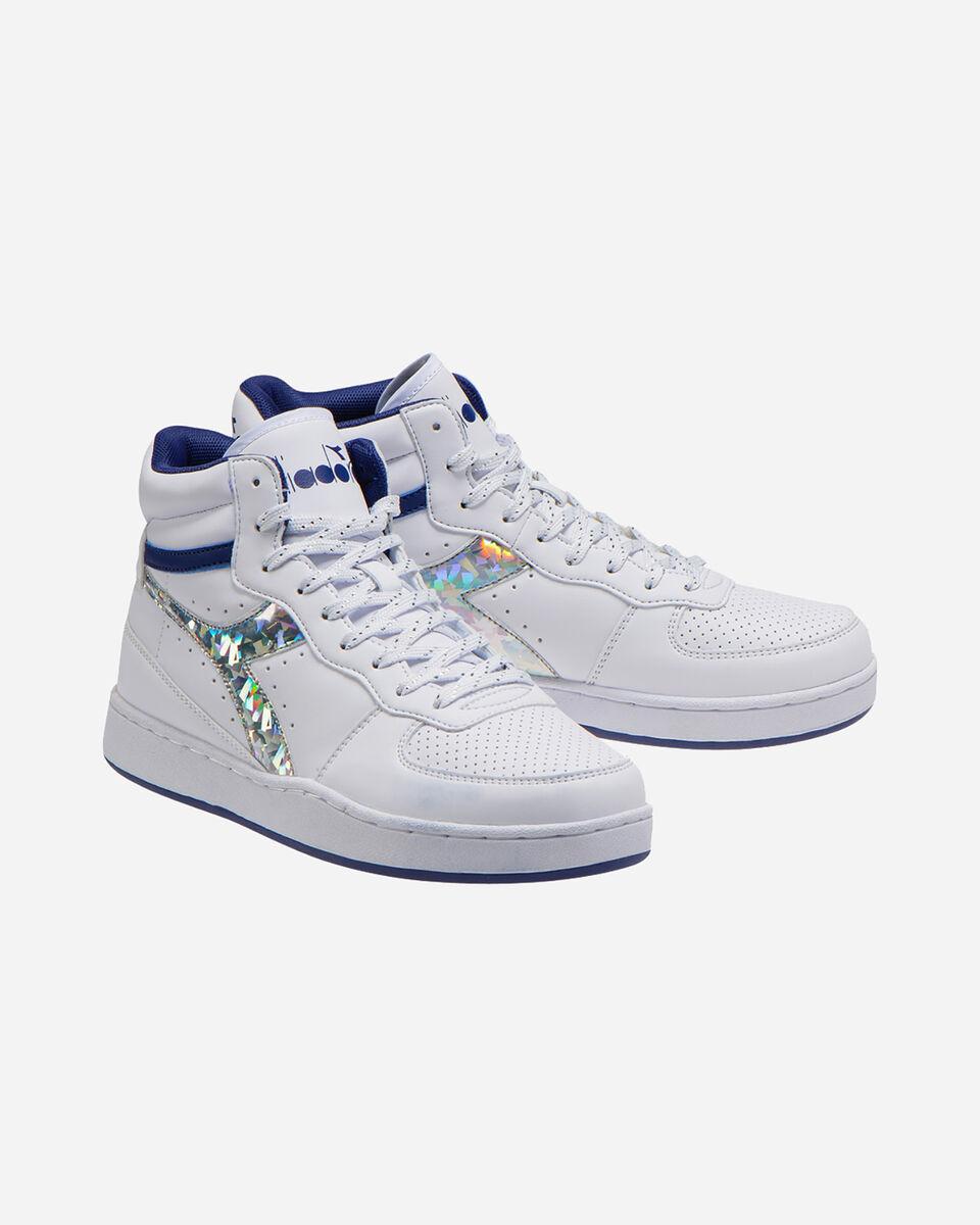 Scarpe sneakers DIADORA PLAYGROUND HIGH JR GS S5089894 scatto 1