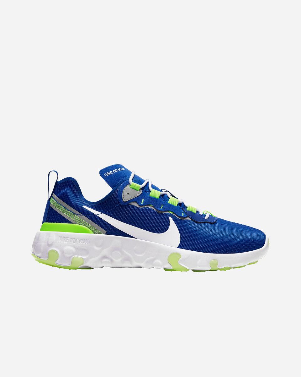 Scarpe sneakers NIKE RENEW ELEMENT 55 GS JR S5197591 scatto 0
