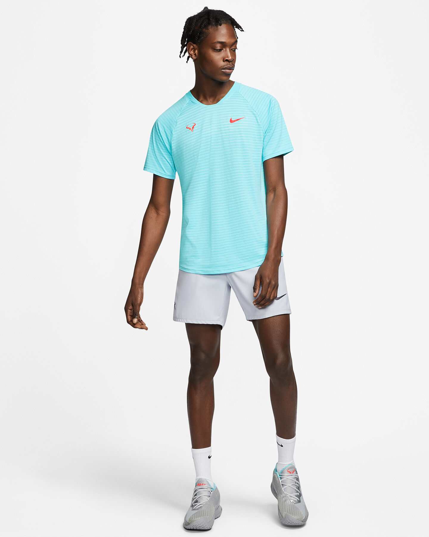 T-Shirt tennis NIKE RAFA SLAM M S5268625 scatto 4