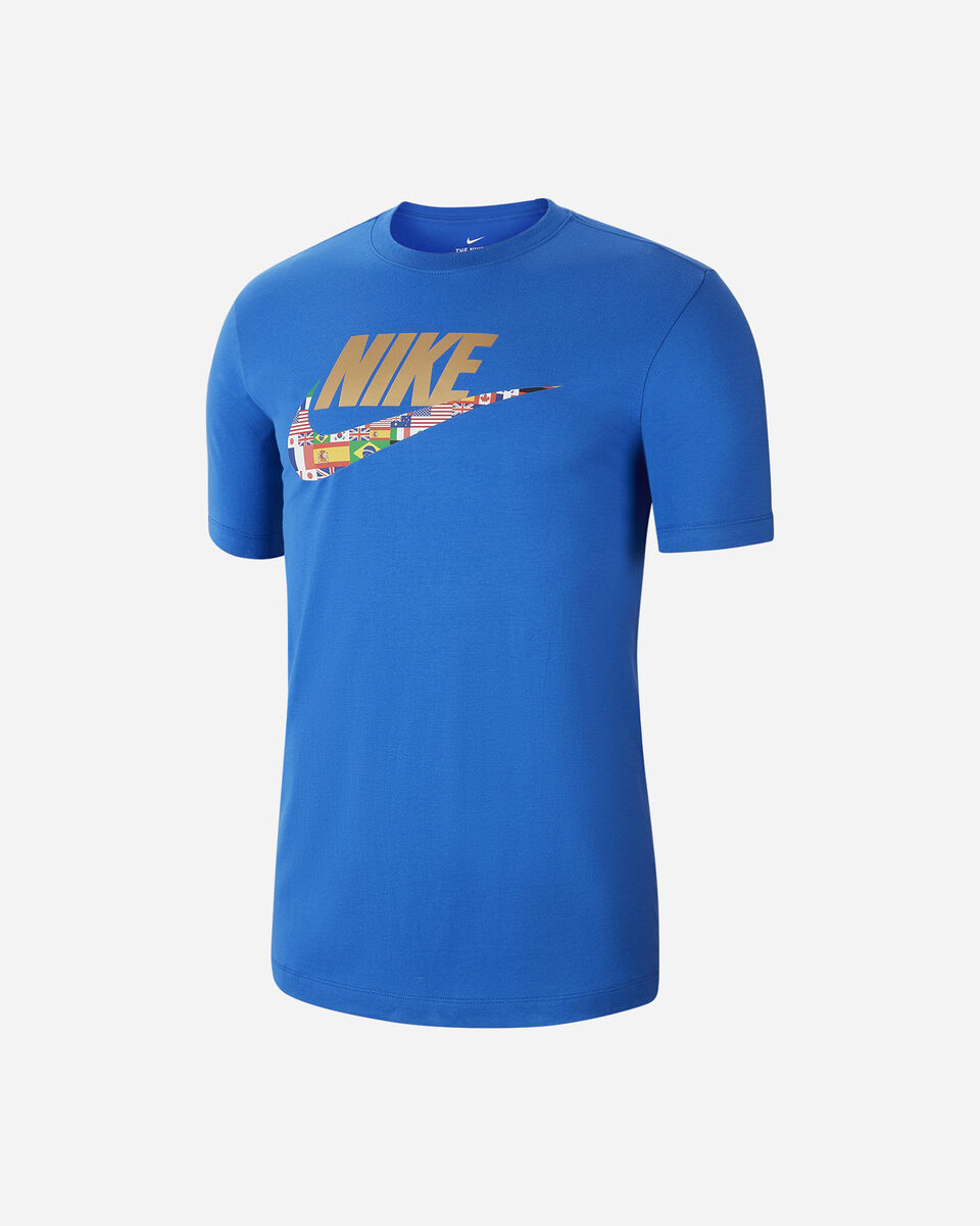 T-Shirt NIKE LOGO PREHEAT FLAG  M S5196432 scatto 0