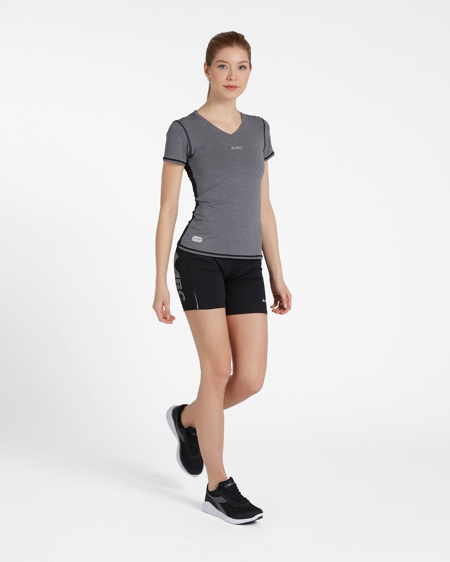 T-Shirt running ABC TECH V NECK W S4088089 scatto 3