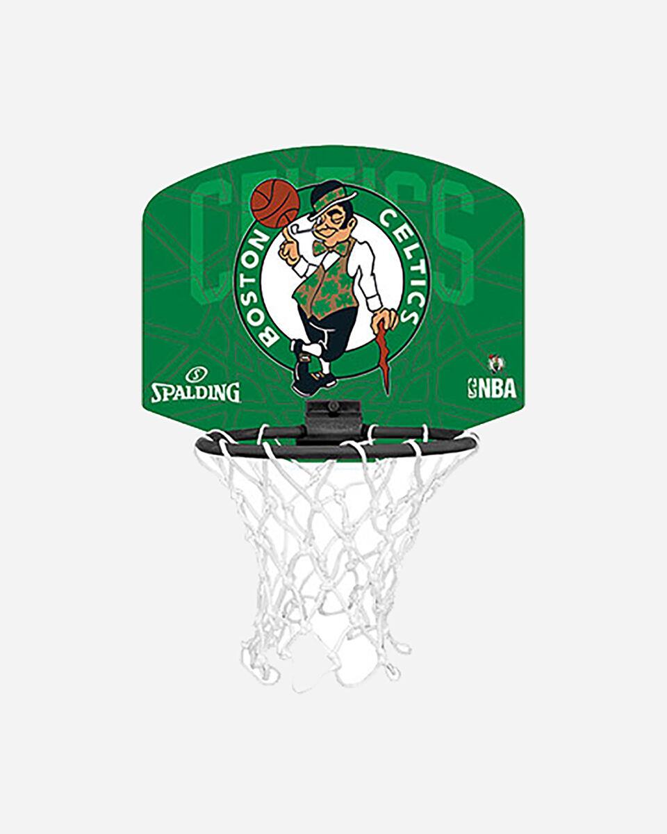 Canestro tabellone basket SPALDING BOSTON CELTICS JR S2006381|UNI|UNI scatto 0