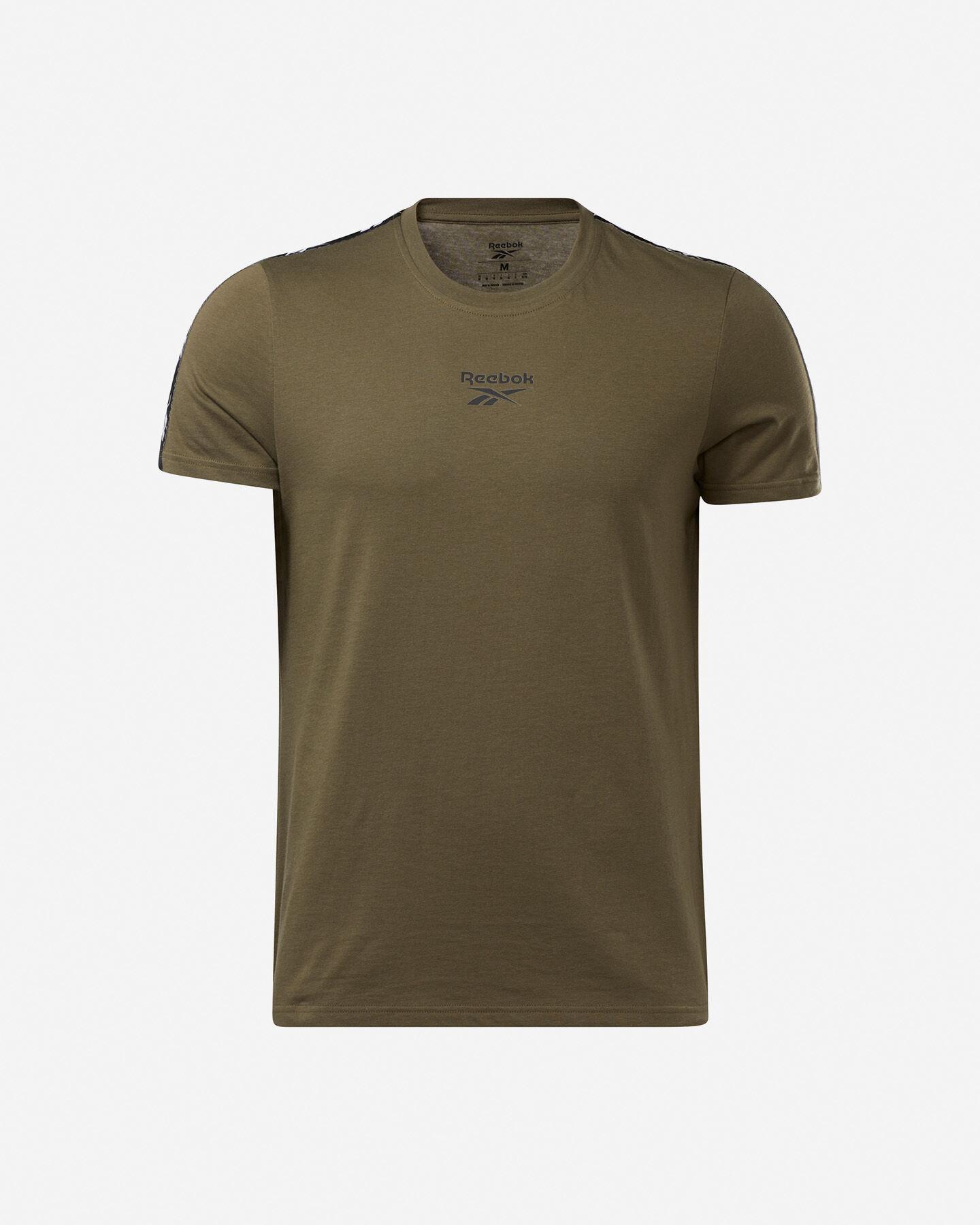 T-Shirt REEBOK TAPE M S5258669 scatto 0