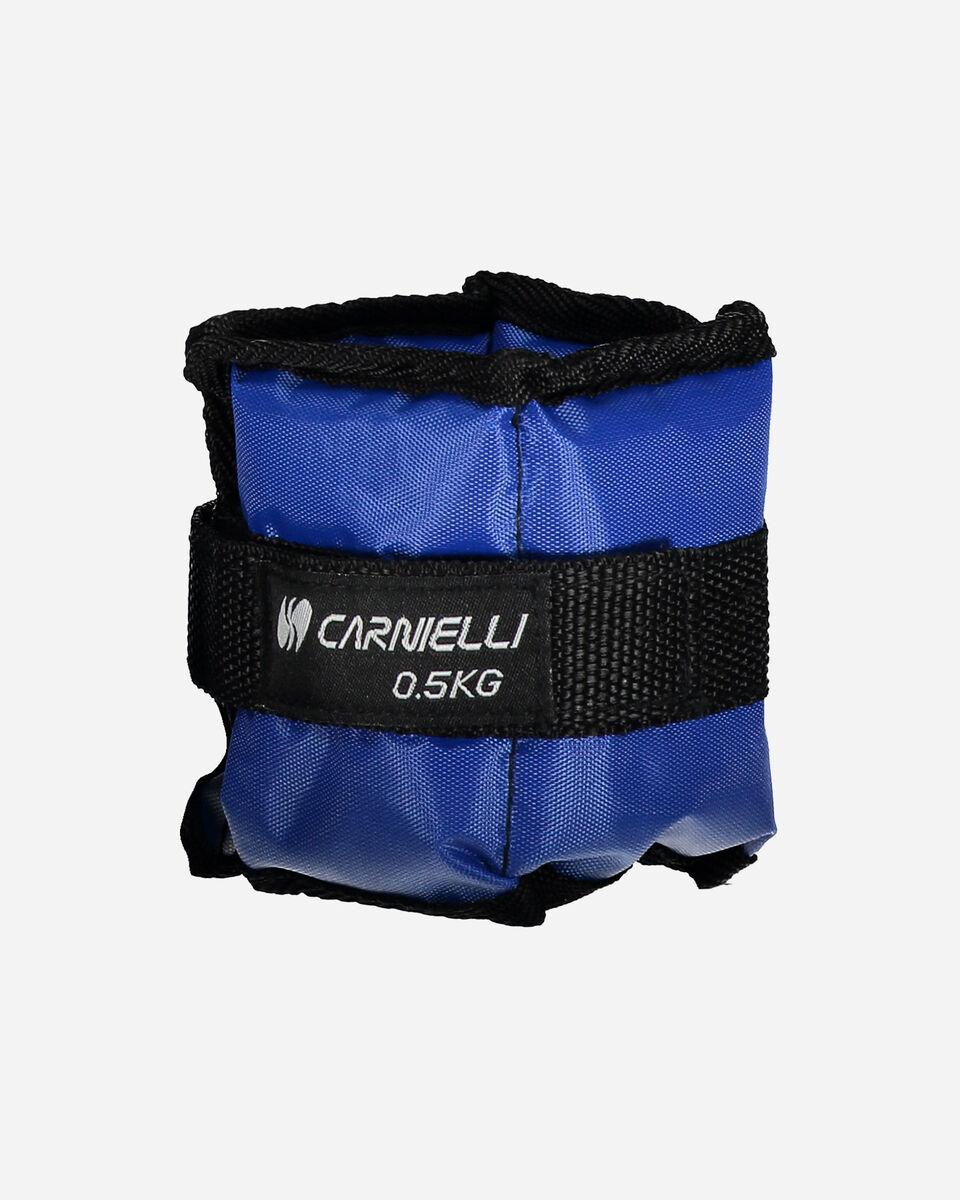 Accessorio pesistica CARNIELLI CAVIGLIERE 0,5 KG S1328740 1 UNI scatto 1