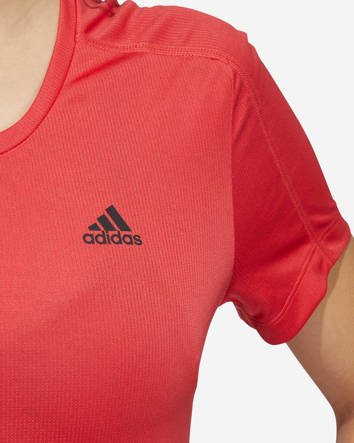 T-Shirt running ADIDAS RUN IT 3-STRIPES FAST W S5150018 scatto 5
