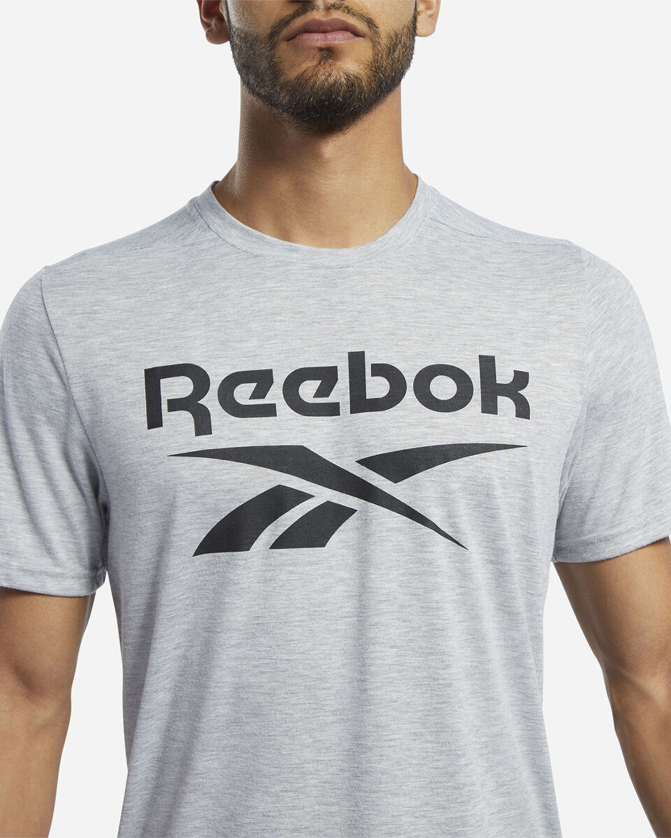 T-Shirt training REEBOK WORKOUT GRAPHIC M S5213779 scatto 4