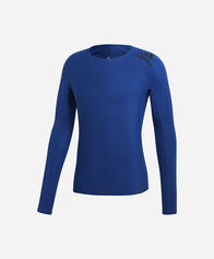 CALCIO uomo ADIDAS ALPHASKIN 360 TEE LONG SLEEVE M