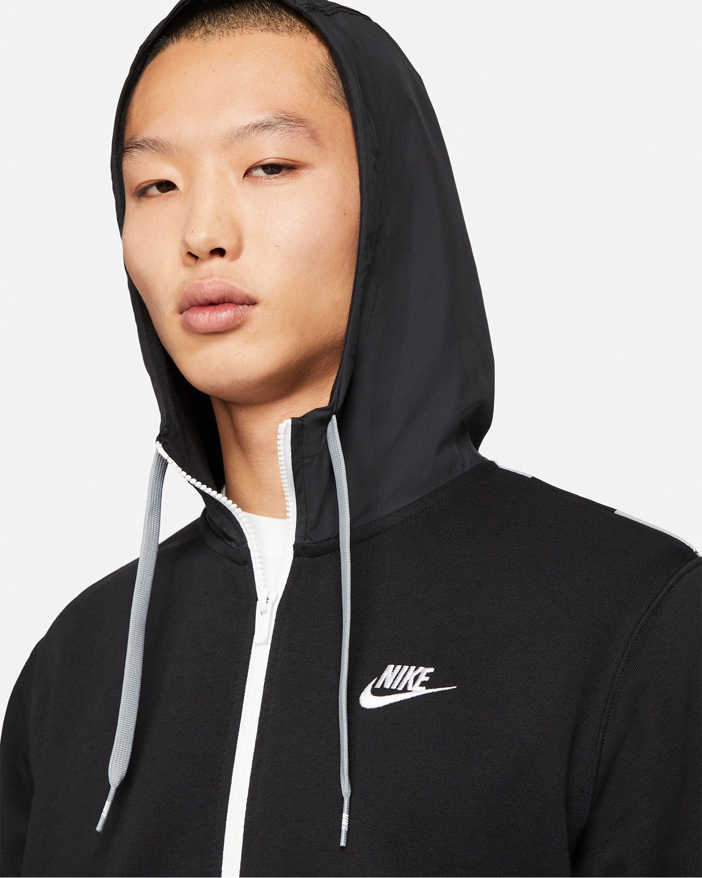 Felpa NIKE FULL ZIP M S5269882 scatto 2