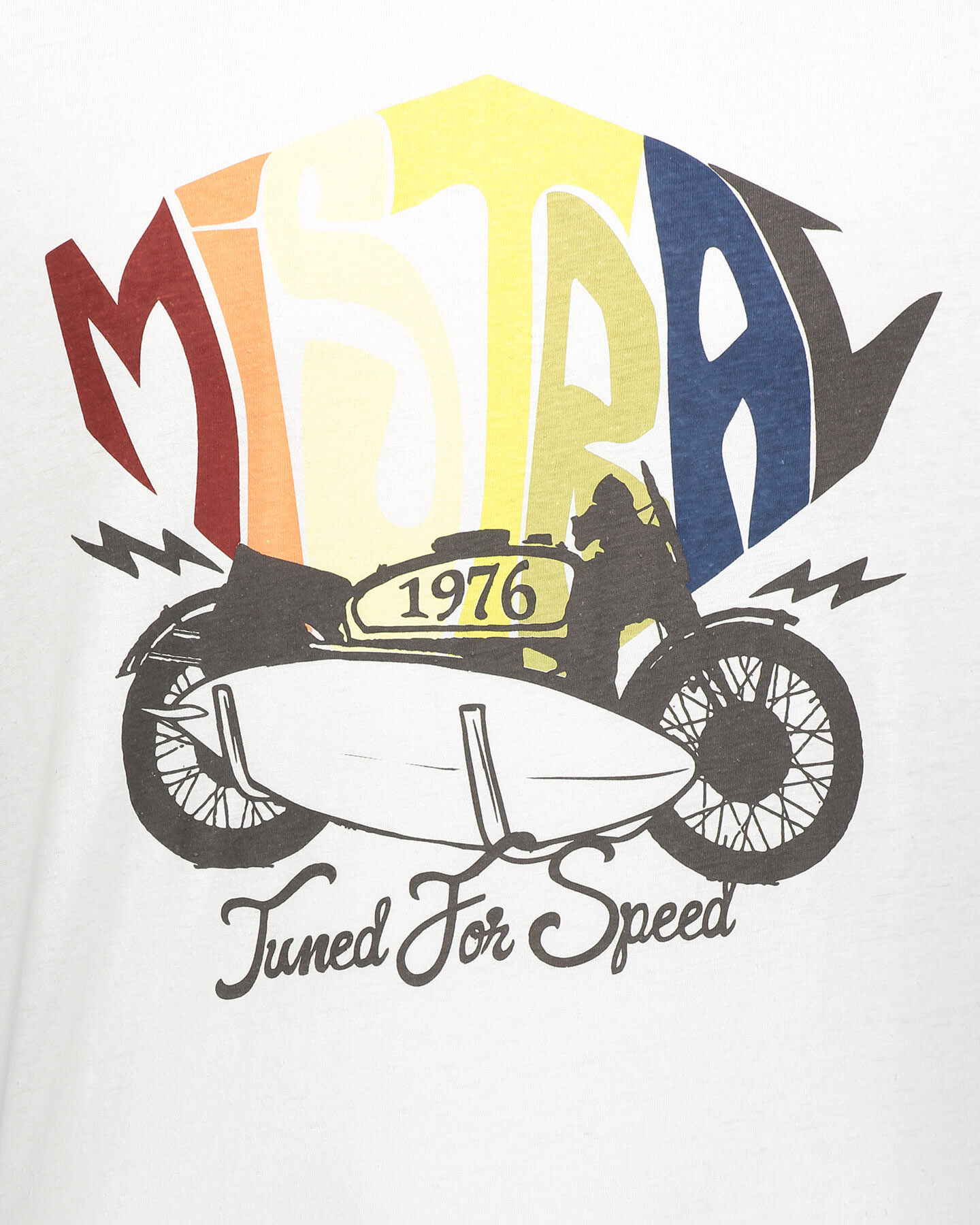 T-Shirt MISTRAL LOGO M S4073898 scatto 2