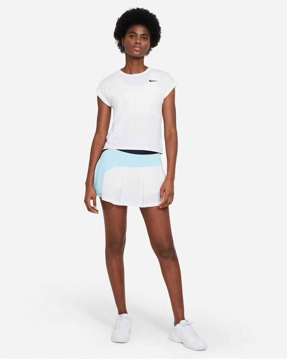 T-Shirt tennis NIKE COURT DRI-FIT VICTORY W S5269052 scatto 3