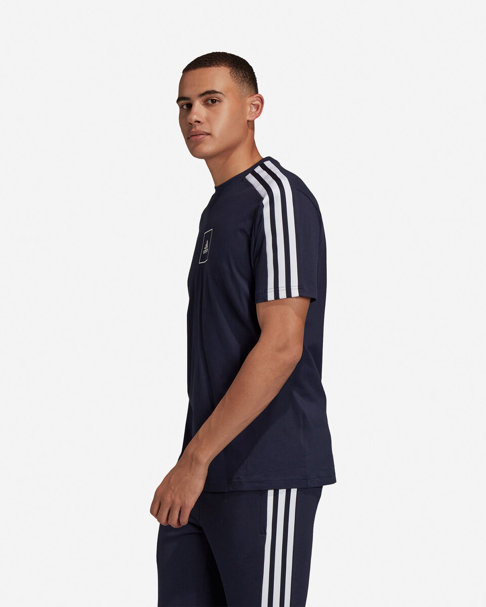 T-Shirt ADIDAS 3S TAPE M S5217933 scatto 3